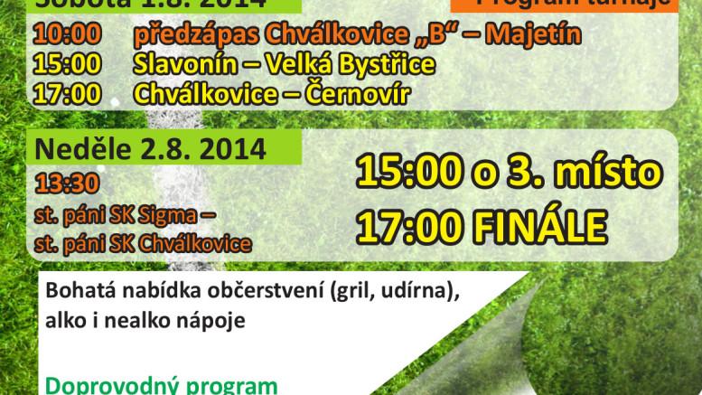Plakát k memoriálu Miloslava Mikšíka
