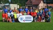 Všichni účastníci Letní fotbalové školy v Bělkovicích