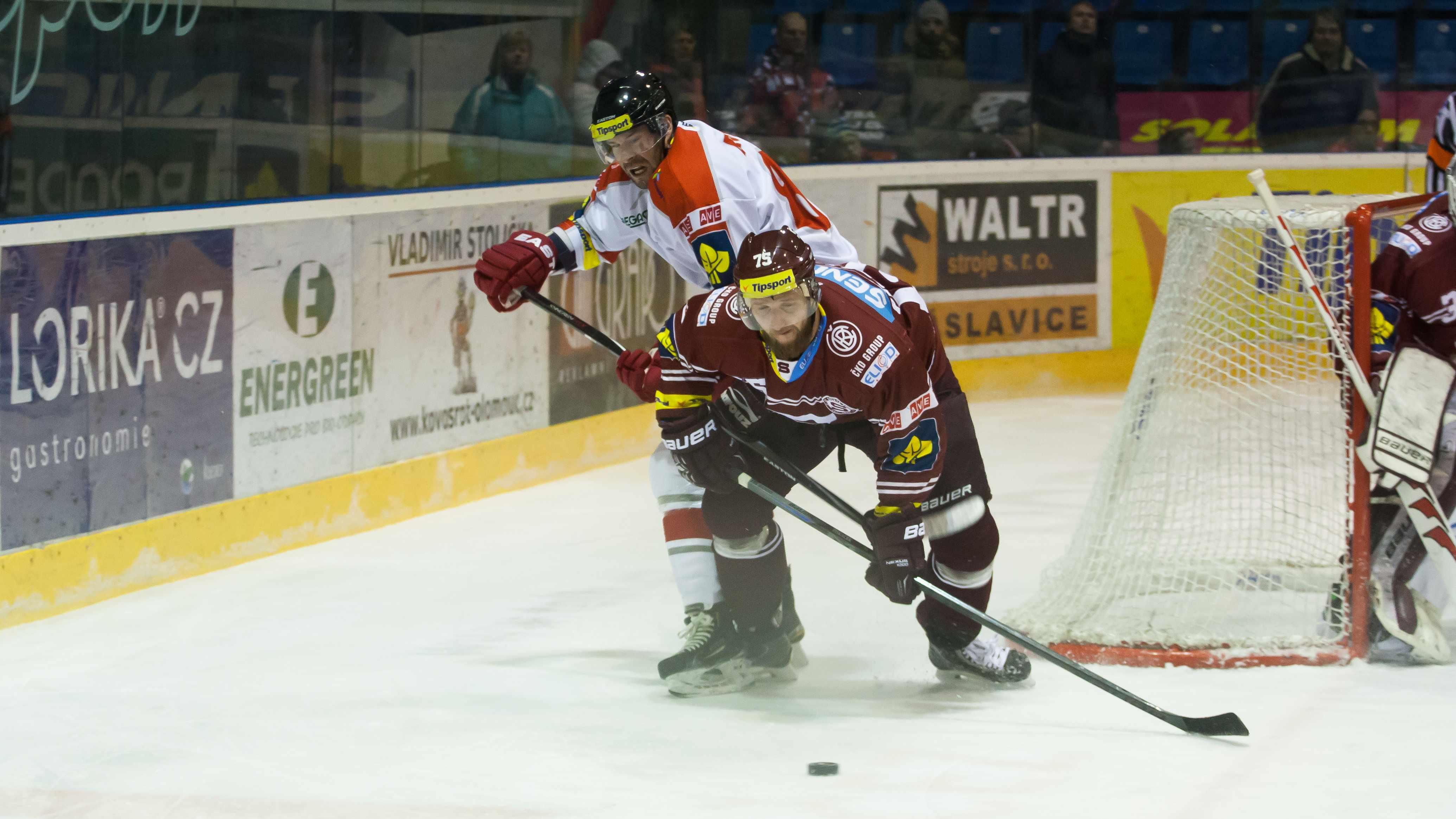 HC Olomouc nestačil ani na Spartu Praha.