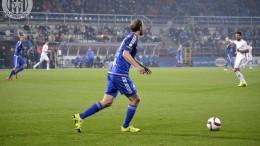 Roman Hubník v zápase proti Mladé Boleslavi.