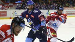 Jaromír Jágr v zápase proti Olomouci