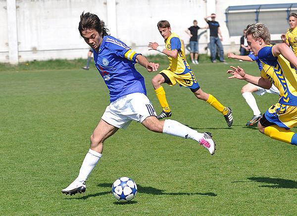 Stefan Danis, velký talent SK Sigmy Olomouc.