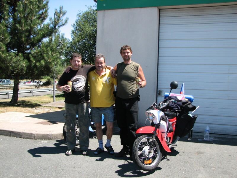 Rossi a Doktor ve Francii